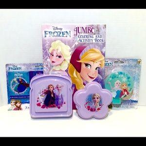 Disney's Frozen Color & Lunch Set